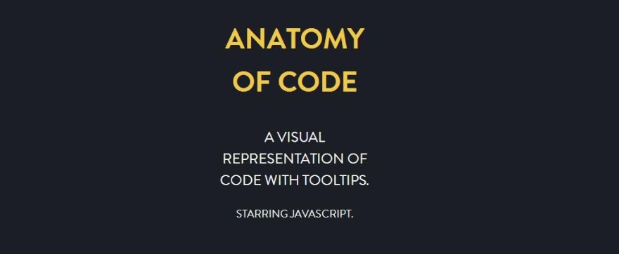 Anatomy Of Code